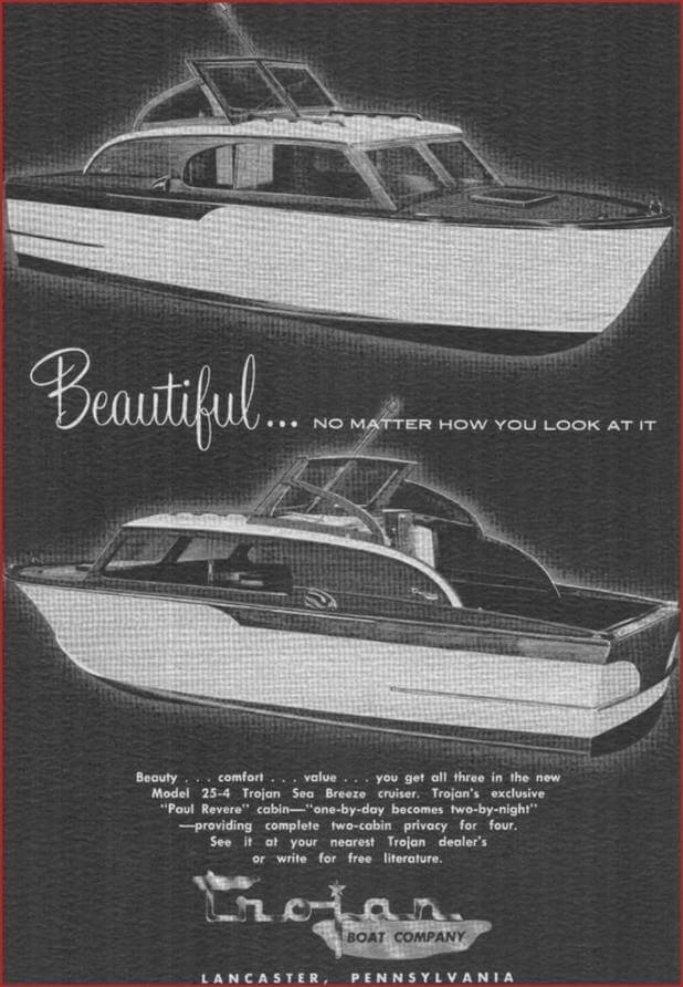 1956 sea breeze 25 foot.