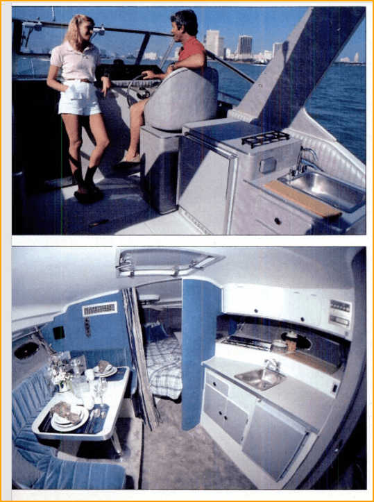 9 Meter trojan helm and galley