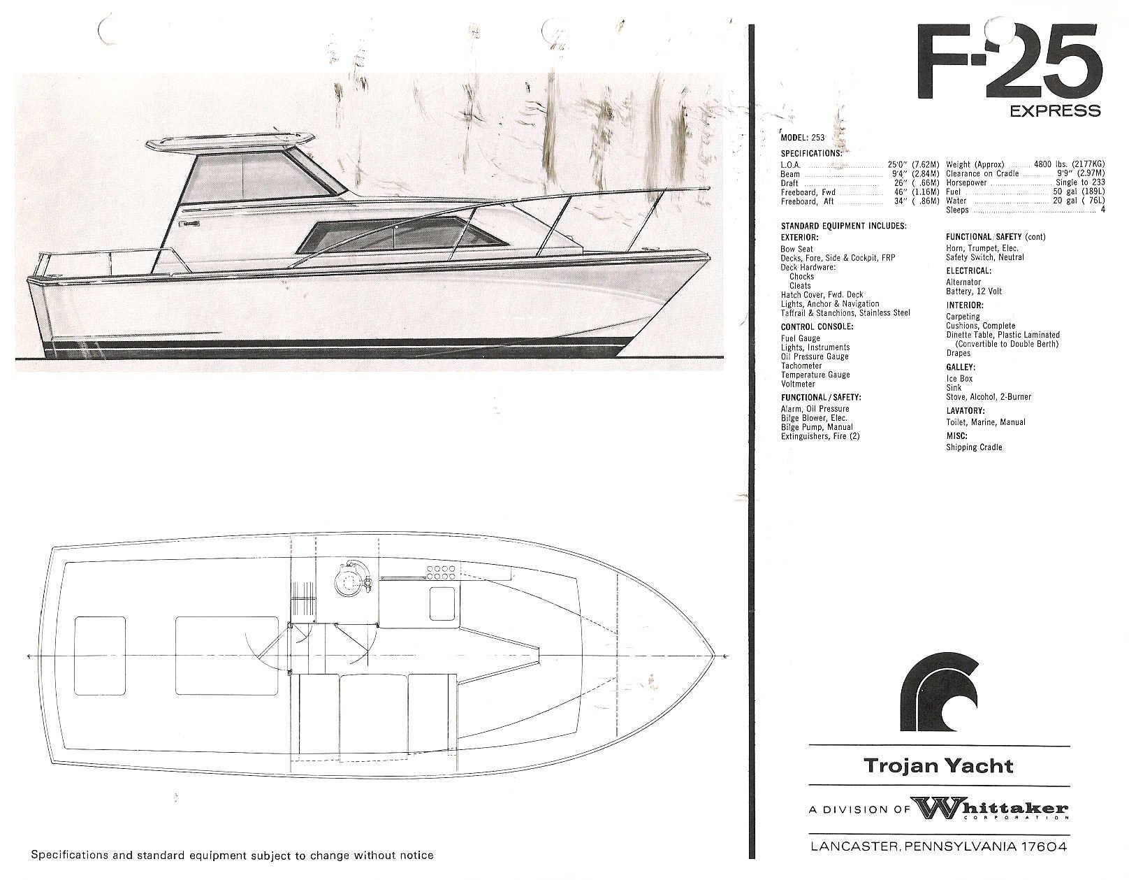 wiring diagram 1976 trojan boat